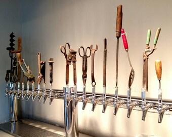 Antique Tool Beer Tap Handles