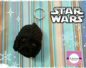 Star Wars-Darth Vader Keychain amigurumi, crochet, crochet, wool