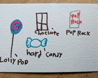 Sweet Postcard - Proceeds go to an Animal Shelter!