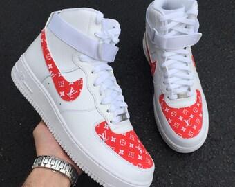 Custom Nike Air Force 1 High | SUPxLOU