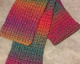 Rainbow Colored Scarf