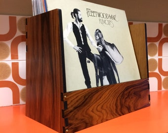 Brazilian Rosewood. Record Crate *Elite limited editon. Rare & Exotic Vinyl Record storage