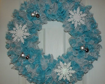 Snowflake Christmas Wreath
