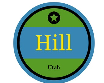 Hill AFB Sticker