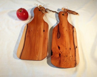 Yew board for serving or chopping