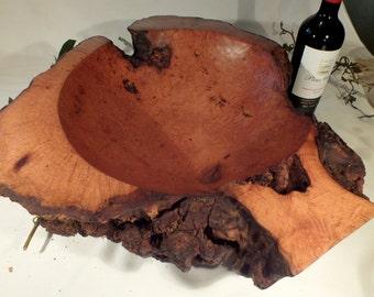 Huge burr acacia bowl
