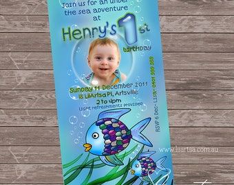 Under the Sea - Personalised - Printable - Digital File - Childrens Birthday