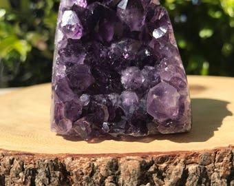 Uruguay Amethyst, Amethyst, Amethyst Geode, Amethyst Stone,Natural Amethyst, Healing Stone, Reiki Stone, Crystal Altar, Purple Crystal,
