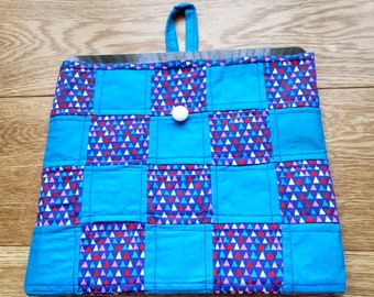 Quilted iPad Cover