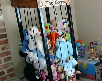 Stuffed animal storage, Stuffed animal zoo, Toy Box, Toy organizer, Toy storage, The Zoo