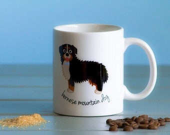 Bernese Mountain Dog Mug (boy)