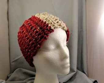 Crocheted Head Band and Neck Warmer