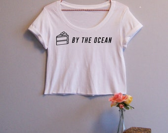 Cake By The Ocean DNCE Women's Crop Tee