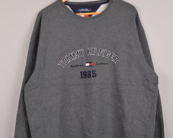 tommy hilfiger, vintage tommy hilfiger, vintage tommy hilfiger, tommy sweaters, vintage crewnecks, vintage sweaters