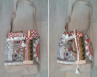 The Uzbek: reversible purse. two in one!