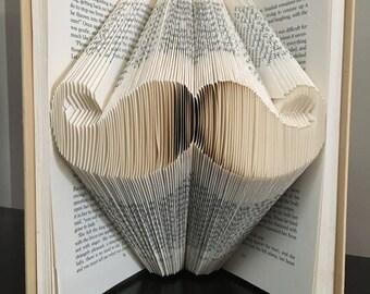 Mustache Book Fold
