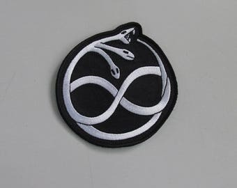Ouroboros Embroidered Patch
