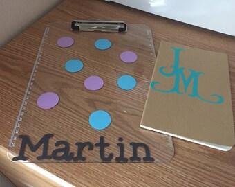 Personalized Acrylic Clip Board