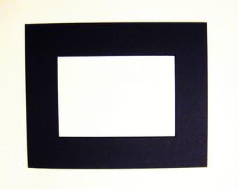 Black on White Beveled Image Matt Opening