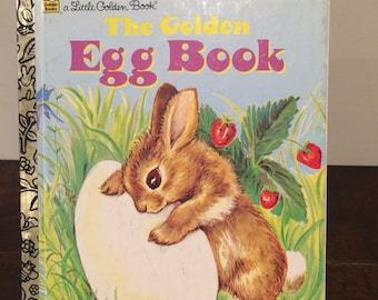 1975 The Golden Egg Book by Margaret Wise Brown