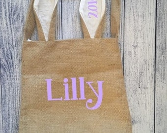 Personalized Easter Bunny Tote