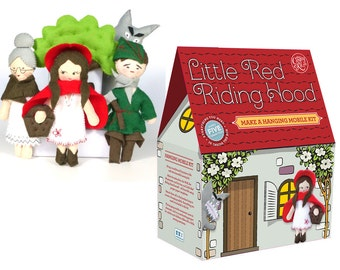 Little Red Riding Hood Mobile Sewing Kit