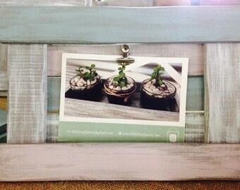 Rustic 'dryland' photo board
