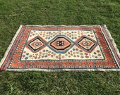 Hand-Knotted Persian Azer...