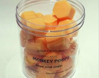 Monkey Poops body scrub singles monkey farts body scrub banana body wash organic banana body scrub organic monkey farts