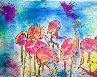 Flamingo's Spa Party