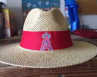 California Angels/Anahiem Angels straw hat