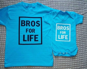 Bros for life. Matching brother t-shirts and/or  vest