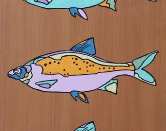 Fish, Fine Art, Animal Art painting