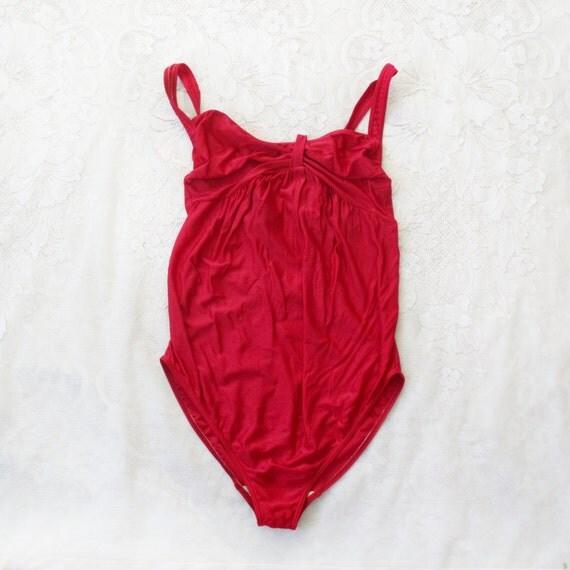 Prenatal Swimsuit, XL, Anita swimsuit, Pregnant, red swimsuit, bathing suit, onepiece swimsuit, european fashion, vintage, 80s fashion