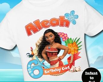 Moana Birthday Shirts, Moana Family Birthday Shirts, Moana Bday Shirt, Moana Shirt, Moana Tank, Maui Shirt, Maui Tank, Moana Family Shirts