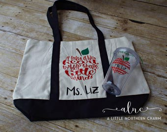 Teachers tote bag | Etsy