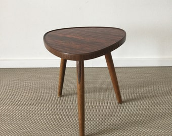 Mid century 50's floral stool