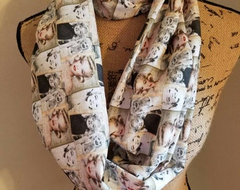 Marylin - Monroe  - pinup - sex - symbol - Hollywood  - icon - infinity  - scarf