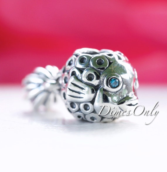 pandora charm splish splash blue topaz 791108tpp