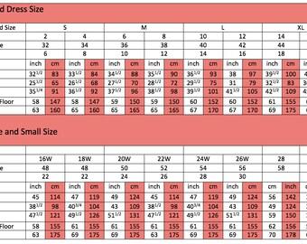 US Standard Size Chart
