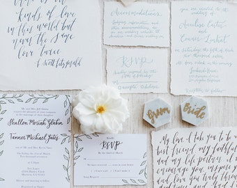 Photographer's Calligraphy Sample Styling Kit