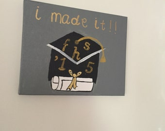 I did it! grad cap