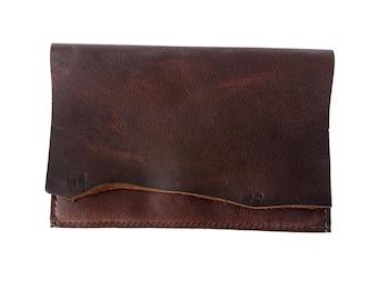 Leather Clutch/Kodiak Clutch/Women's Clutch