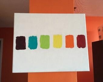 Rainbow/Chakra Painting
