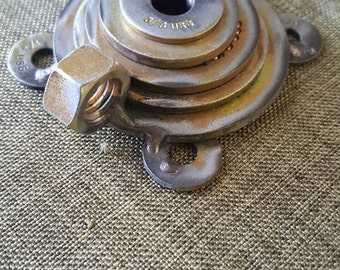 Scrap Metal Welded Turtle