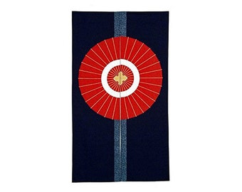 Made in Japan Noren Curtain Tapestry Traditional Japanese Umbrella Design