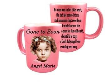 MEMORIAL MUG / Custom / Personalized / 11oz. Ceramic Mug