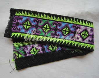 Hmong cross stitch handmade embroidery