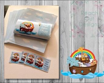 Chocolate Wrapper & Jar Stickers