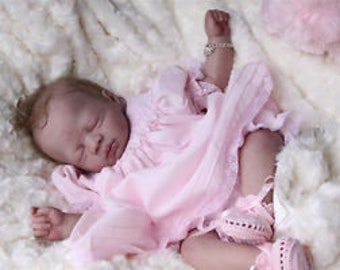 anna reborn doll kit by Pat Moulton    unpainted kit, not a completed doll.